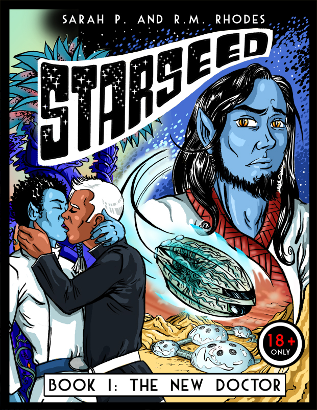 Starseed Comic Book Cover